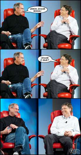 Steve Jobs vs. Bill Gates 9