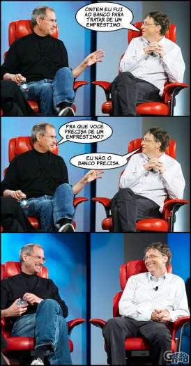 Steve Jobs vs. Bill Gates 10