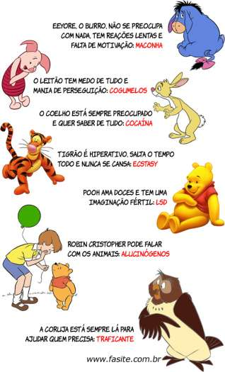 7 sinais de que os personagens das Aventuras do Ursinho Pooh usam drogas 2