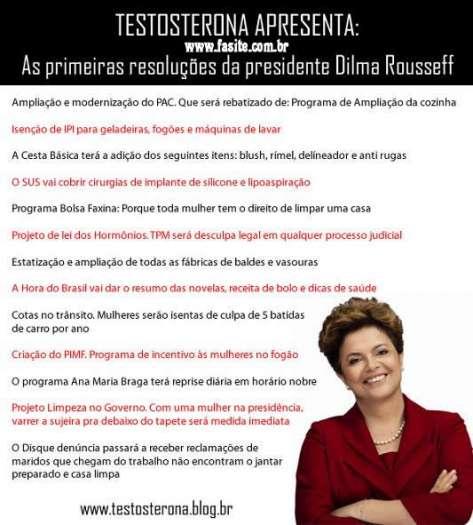 As primeiras resoluções da presidente Dilma Rousseff 4