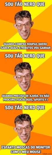 Sou tão nerd que (#2) 10