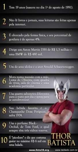 10 curiosidades sobre Thor Batista 4