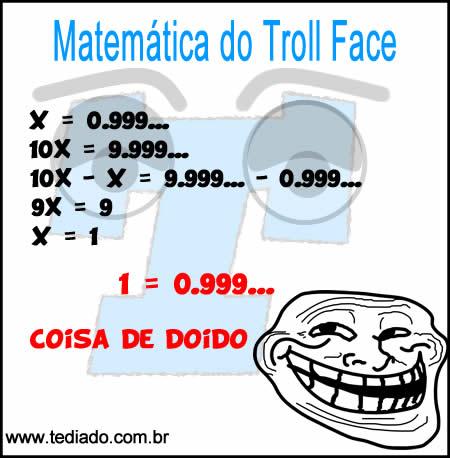 Matemática do Troll Face 4