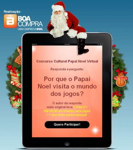 Concurso cultural Papai Noel Virtual 4