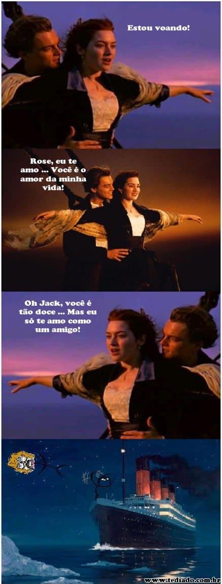 Level da amizade: Titanic 4