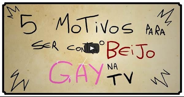 5 motivos para ser contra o beijo gay na tv 1