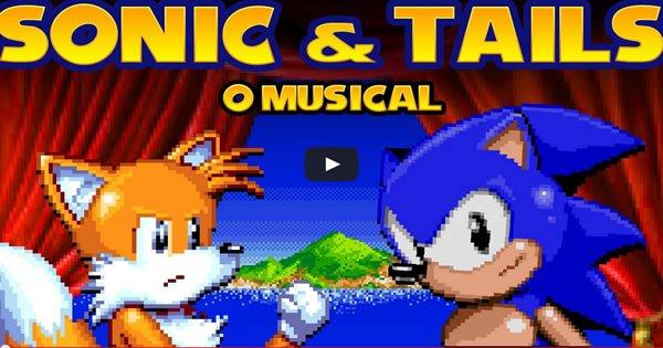 Sonic e Tails - O musical 4