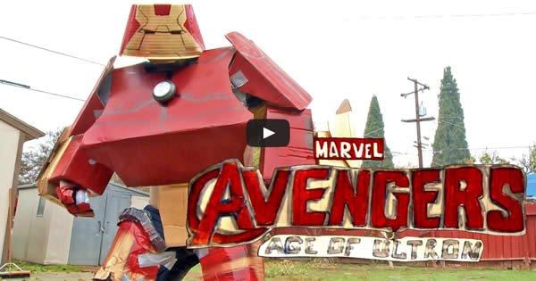 Épica trailer de Os Vingadores 2 feito no fundo de casa 6
