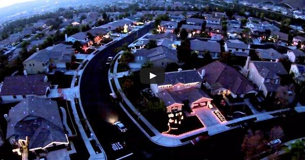 Quando os vizinhos se unem para criar uma iluminação épica de natal 5