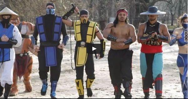 Mortal Kombat VS Street Fighter: Épica batalha de dança 4