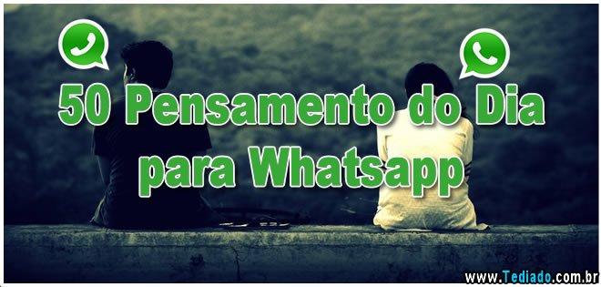 50 Pensamento do Dia para Whatsapp 7