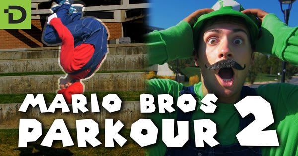 Super Mario Brothers Parkour 2 4