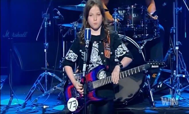 Garoto de 10 anos, faz cover sensacional no Australia's Got Talent 5