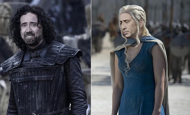 Se Nicolas Cage fossem cada personagem de Game Of Thrones (31 fotos) 4