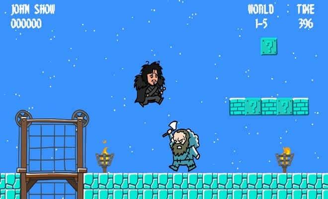 Games of Throlls - Mario 3