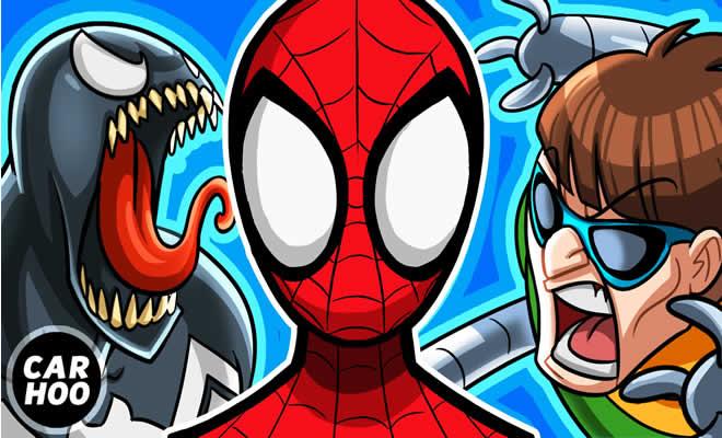 Homem aranha Vs Duende Verde + Doutor Octopus + Venom 12