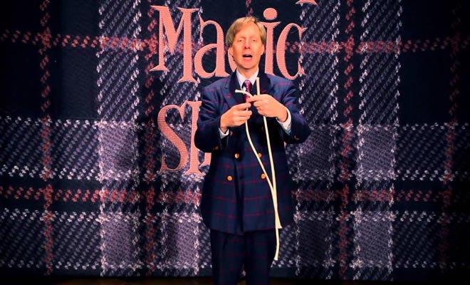 Mágico de Las Vegas e incrível truque com cordas 4