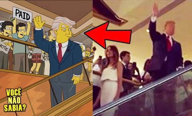 Os simpsons previram Trump presidente? Será mesmo? 6