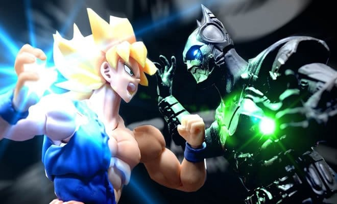 Stop motion - Goku Vs Batman 3
