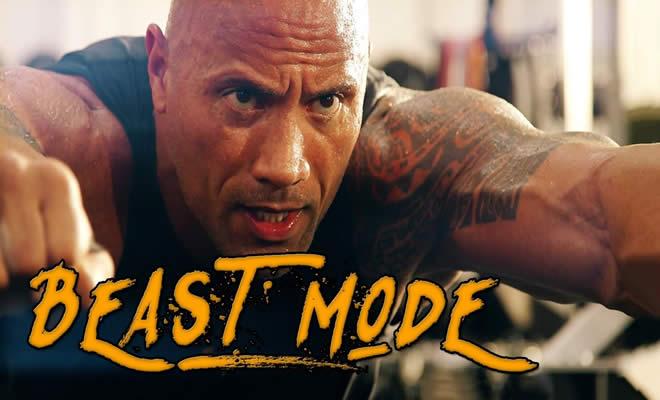 O treinamento mostro do Dwayne Johnson, o The Rock 2