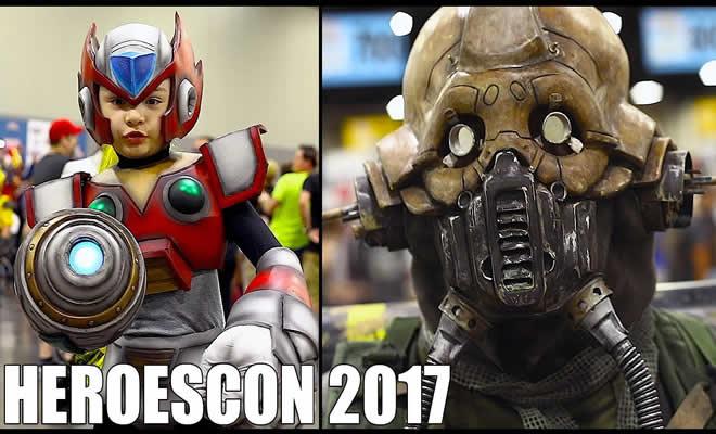 HeroesCon 2017 - Com os melhores cosplayers 1