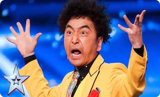 Mágico japonês maluco não teme o perigo e deixa todos aflitos no Britanis´s Got Talent 2