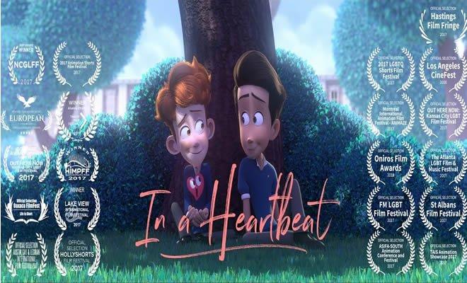 Curta de animação sobre a história de amor entre dois garotos 3