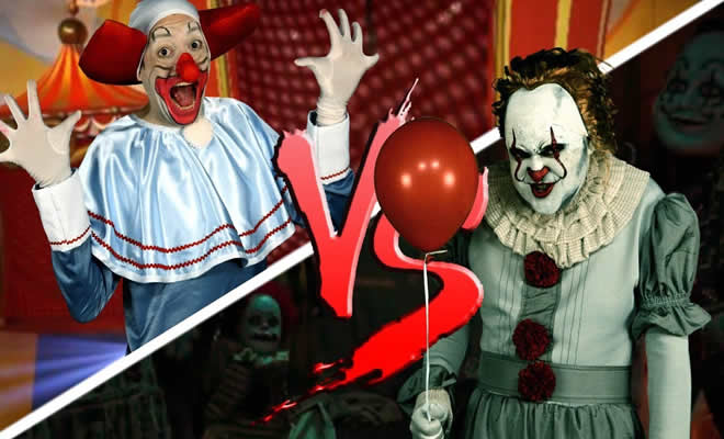 Bozo Vs It, A coisa, Pennywise 2