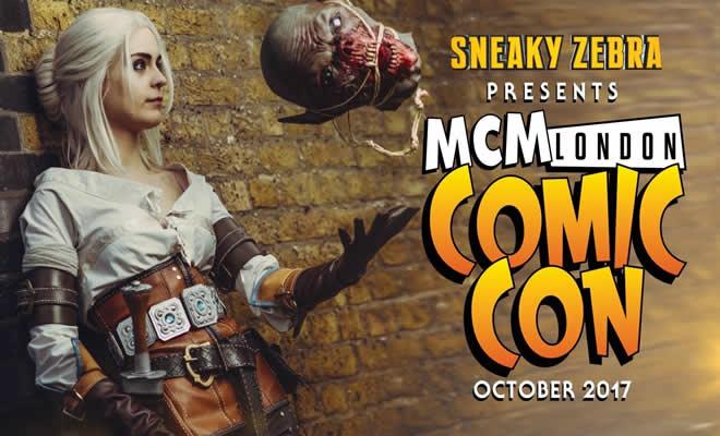 MCM London Comic Con outubro 2017 4