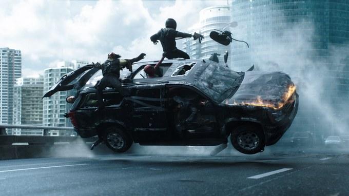 Que tiro foi esse com Deadpool 8