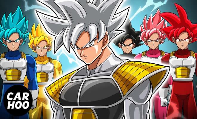Goku Saiyan Rangers 2 - O ataque de Jiren 3
