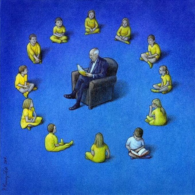 30 ilustrações brutalmente honestas que mostram que há algo de errado com a sociedade de hoje!