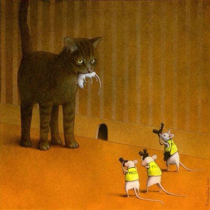 30 ilustrações brutalmente honestas que mostram que há algo de errado com a sociedade de hoje! 5