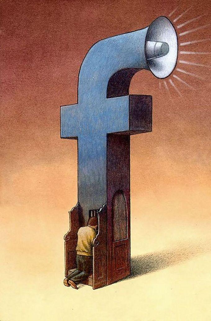 30 ilustrações brutalmente honestas que mostram que há algo de errado com a sociedade de hoje! 6