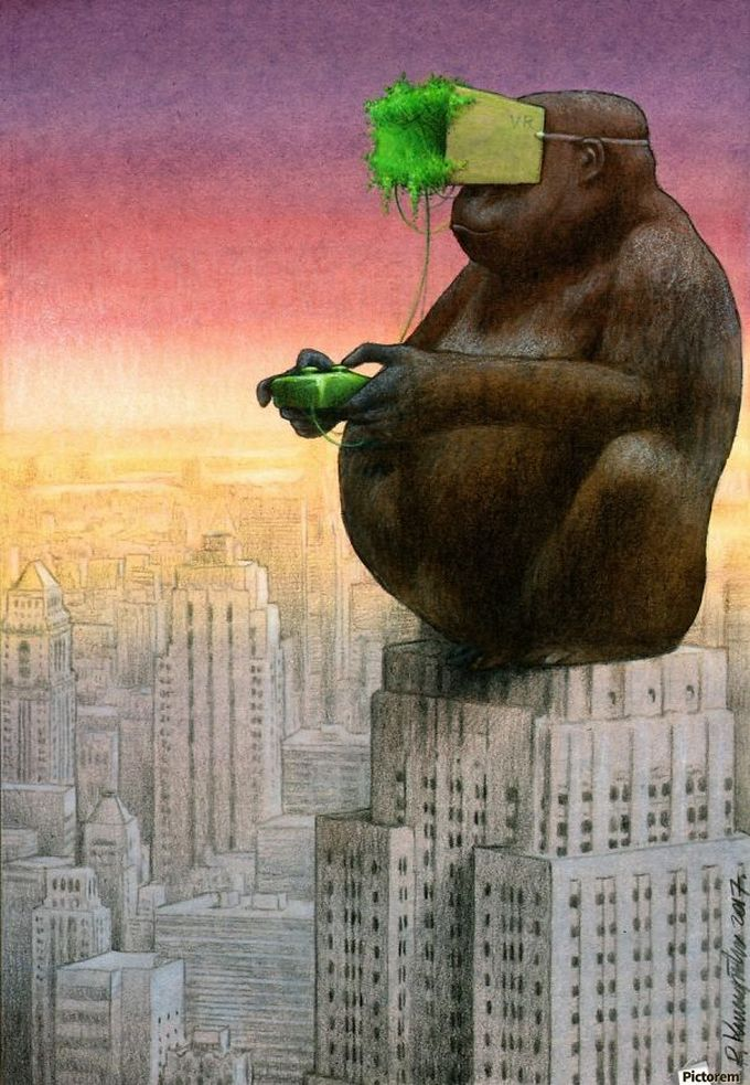 30 ilustrações brutalmente honestas que mostram que há algo de errado com a sociedade de hoje! 9