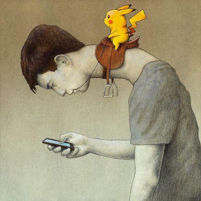 30 ilustrações brutalmente honestas que mostram que há algo de errado com a sociedade de hoje! 12