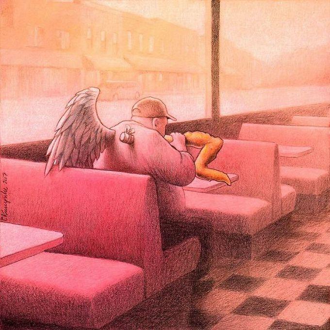 30 ilustrações brutalmente honestas que mostram que há algo de errado com a sociedade de hoje! 14