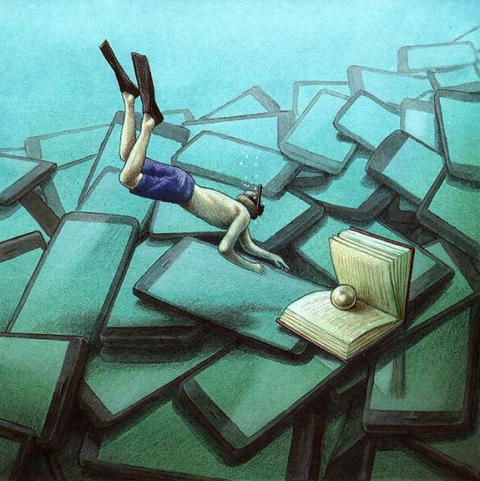 30 ilustrações brutalmente honestas que mostram que há algo de errado com a sociedade de hoje! 15