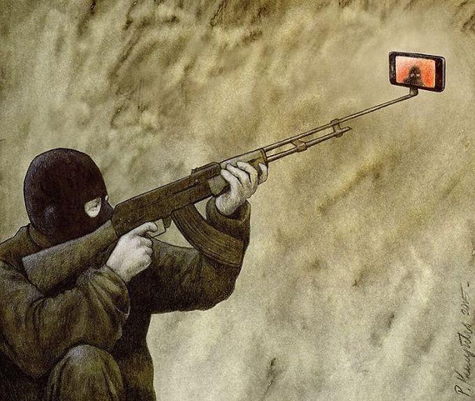 30 ilustrações brutalmente honestas que mostram que há algo de errado com a sociedade de hoje! 16