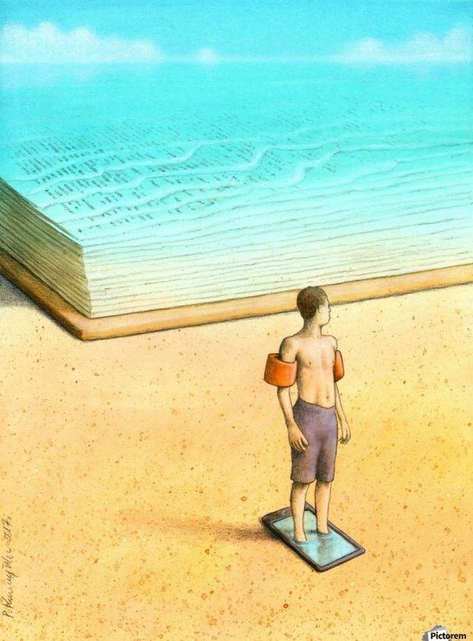 30 ilustrações brutalmente honestas que mostram que há algo de errado com a sociedade de hoje! 19