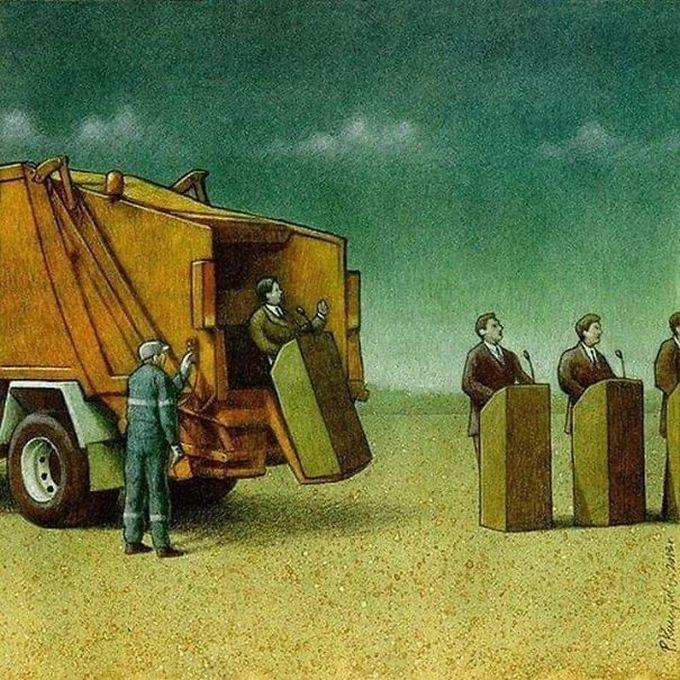 30 ilustrações brutalmente honestas que mostram que há algo de errado com a sociedade de hoje! 20