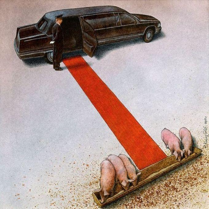 30 ilustrações brutalmente honestas que mostram que há algo de errado com a sociedade de hoje! 22