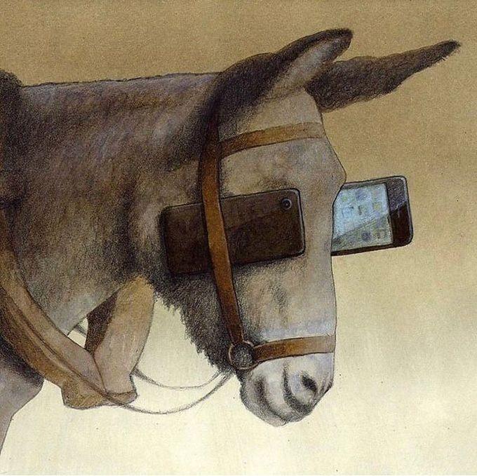 30 ilustrações brutalmente honestas que mostram que há algo de errado com a sociedade de hoje! 24