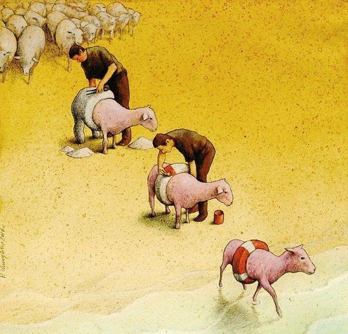 30 ilustrações brutalmente honestas que mostram que há algo de errado com a sociedade de hoje! 25