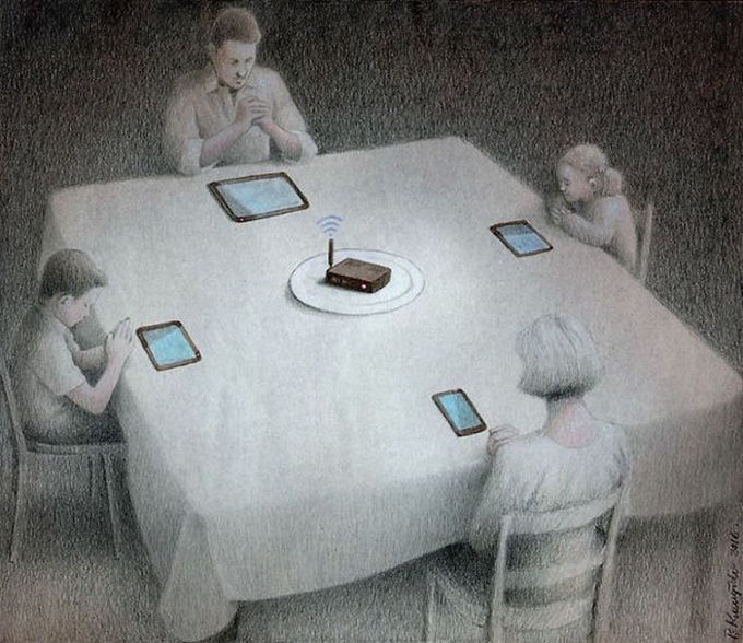 30 ilustrações brutalmente honestas que mostram que há algo de errado com a sociedade de hoje! 30