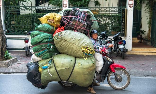 13 métodos de transporte louco de todo o mundo 3