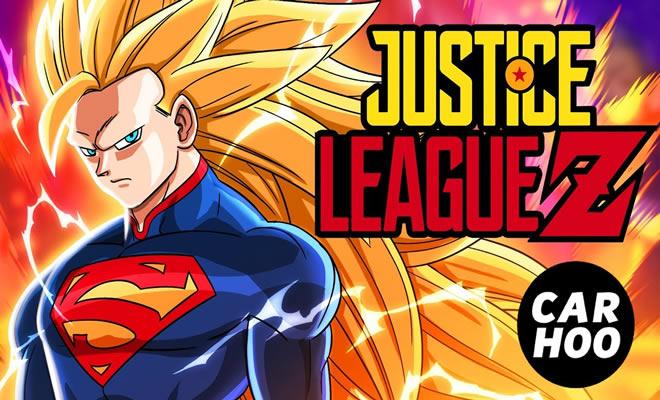Paródia - Liga da justiça e Dragon Ball Z 2