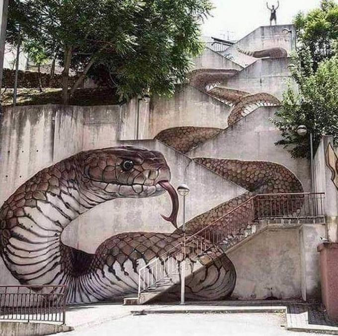 20 escadarias que são incrivelmente artísticas 2