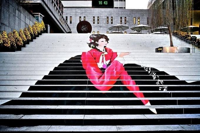 20 escadarias que são incrivelmente artísticas 3