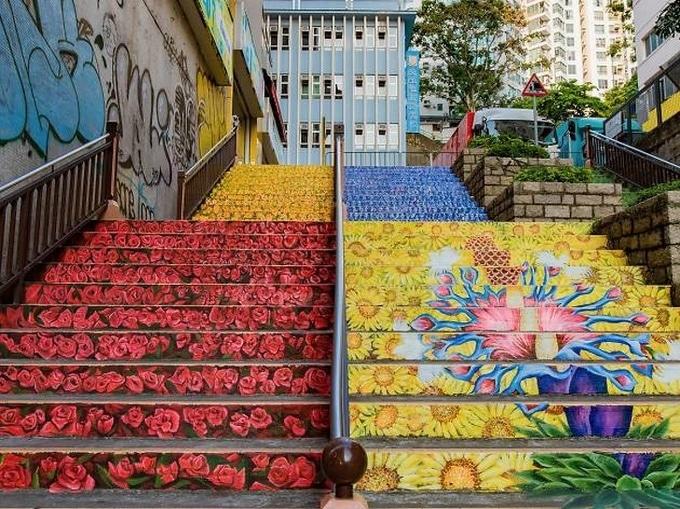 20 escadarias que são incrivelmente artísticas 5